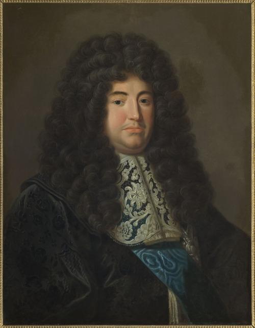 """Фото. Джейкоб Фердинанд Воет """"Мужской портрет"""", конец XVII в."""