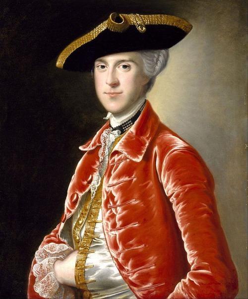 """Фото. Томас Гейнсборо """"Портрет Джозефа Райта из Дерби (Joseph Wright of Derby),1734-1797 гг."""