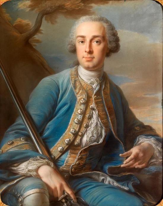 """Фото. Жан Валад """"Портрет маркиза"""", конец XVIII в."""