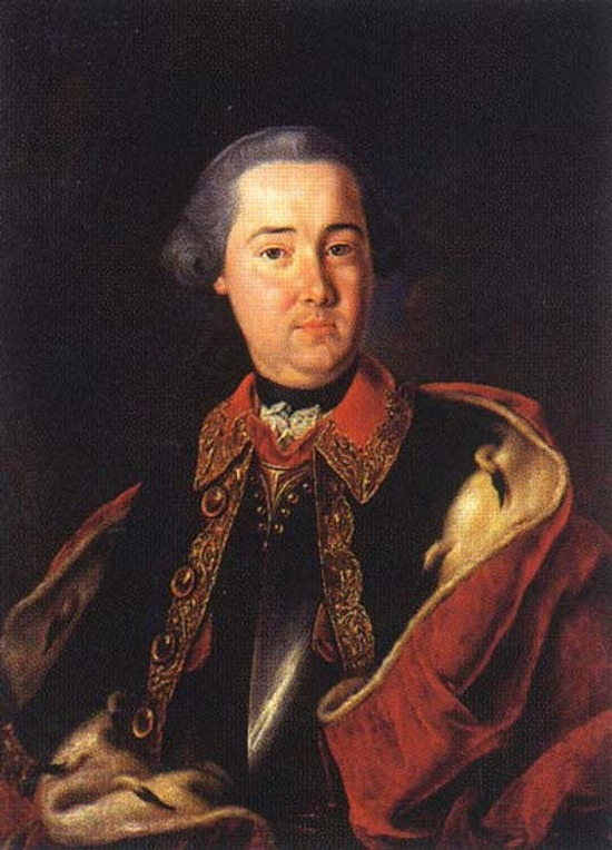 """Фото. Давид Людерс """"Лобанов-Ростовский Иван Иванович"""", 1758 г."""