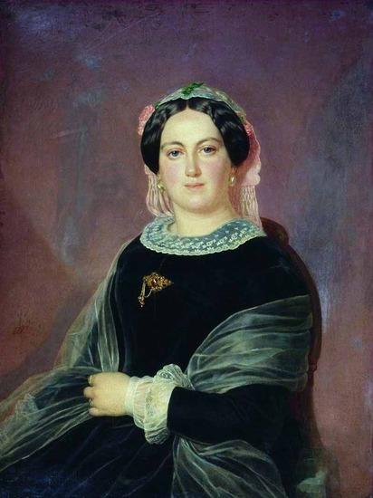 """Фото. Тыранов Алексей Васильевич (1808-1859) """"Женский портрет"""""""