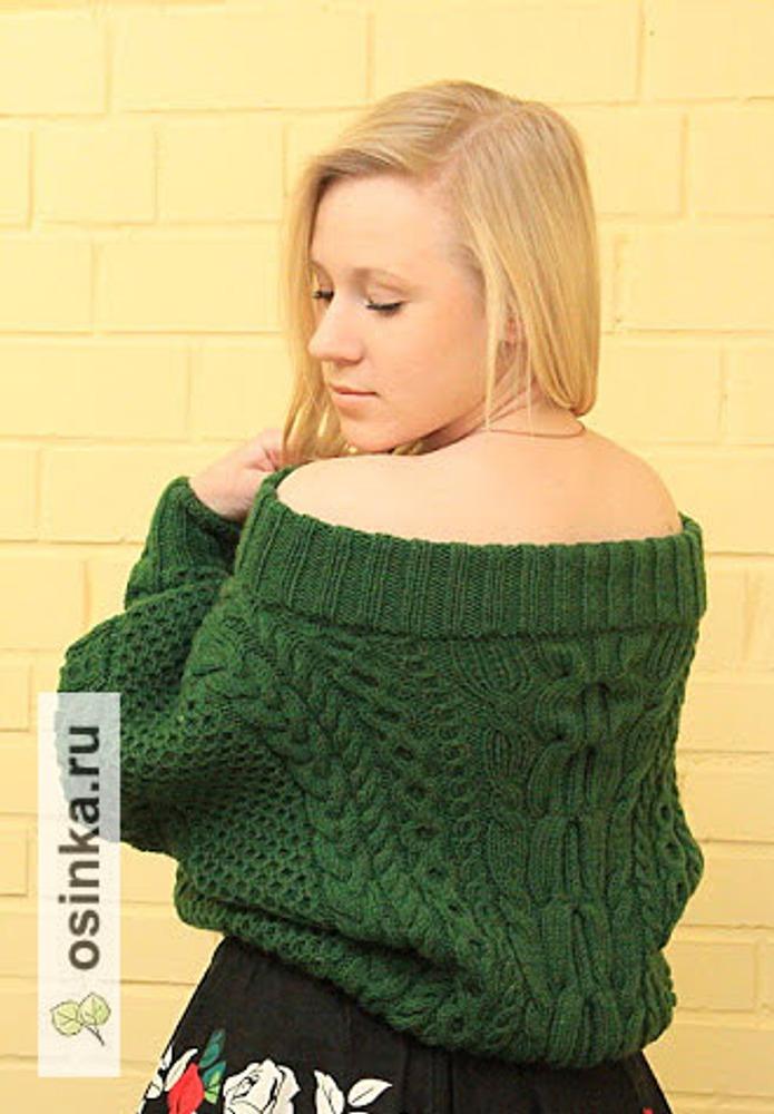"Фото. Свитер. Пряжа ALIZE lanaGold Classic: 51% Acrylic / 49% Wool"". Автор работы - svetlana72_hand_made"
