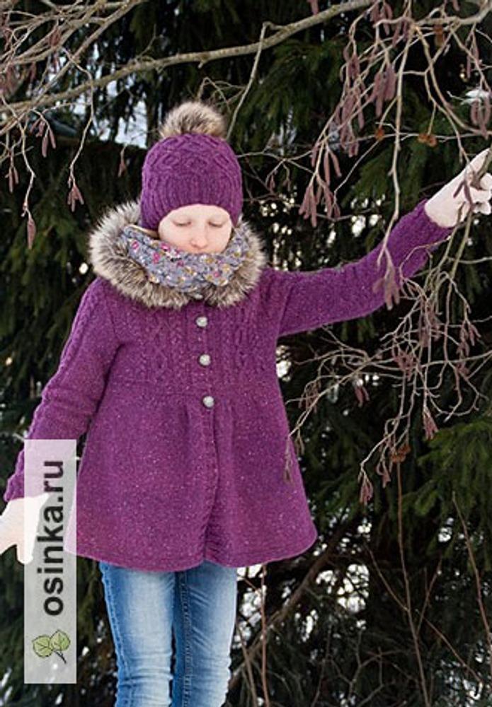 Фото. Курточка с капюшоном и шапочка для дочки   Автор работы - Иринушка@