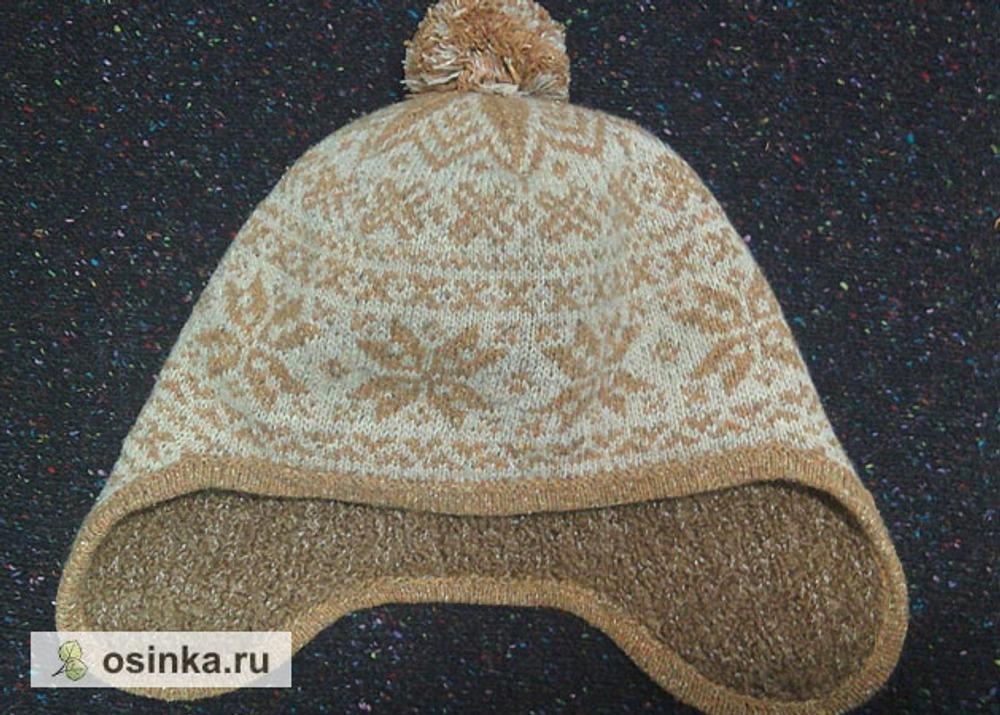 Фото. На исходе зимы связалась шапочка для зятя из твида. Автор работы - НатЮр