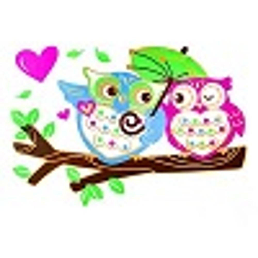 LOVE OWLS, 270х188 мм, цена 90 рубля за 1шт