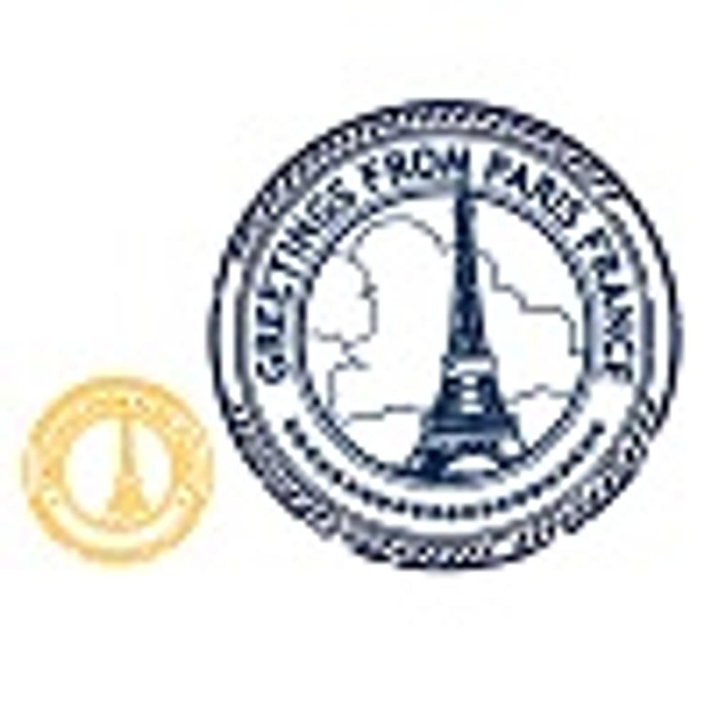 ШТАМП ПАРИЖ, желтый,201х201 мм 80х80 мм,цена 40 рублей за 1шт