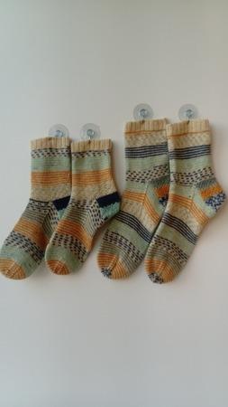 Фото. Носочки - фэмили лук.   Автор работы - Tabi
