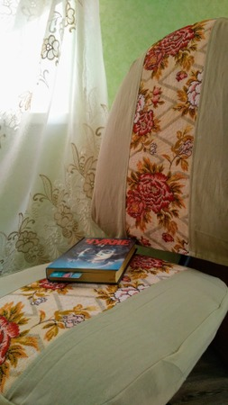 Фото. Чехол на кресло.   Автор работы - feerka