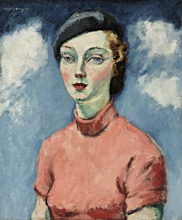 """Фото. Кес ван Донген """"Женщина в берете"""", 1936 г."""