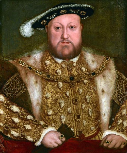 """Фото. Ганс Гольбейн (Младший)  (14978-1543) """"Портрет Генриха VIII"""", ок. 1560-80 гг."""