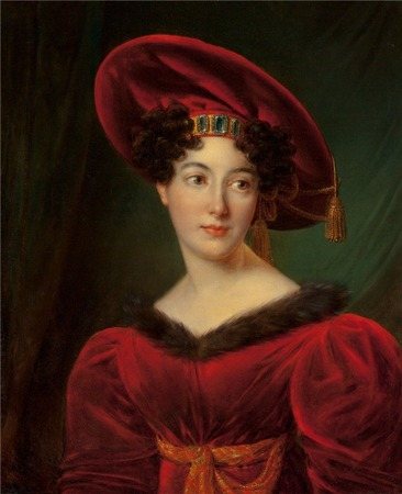 Фото. Francois Joseph Kinson (1771-1839) Portrait of Madam Lestapi, 1824 г.
