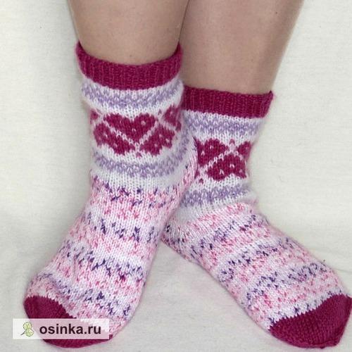 Фото. Симпатичные носочки из остатков! Автор работы - Red Oks