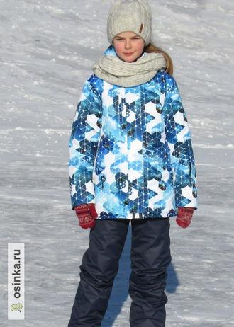 """Фото. """"Антарктида"""". Зимний комплект для Саши. Автор работы - sandra_2005"""