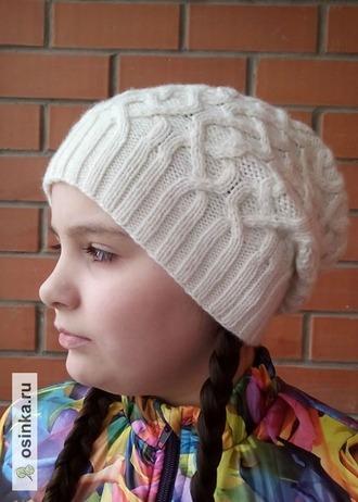 Фото. И еще одна Old College Club Hat от Наталии Пелых. Автор работы - Танечка-док