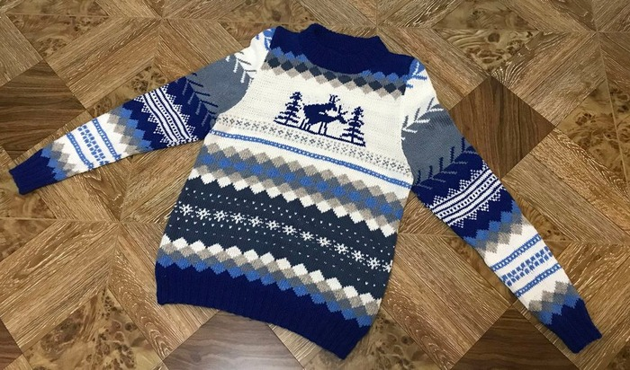 Фото. Рождественский свитер. Автор работы - javalja