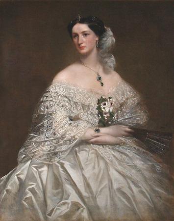 "Фото. Richard Buckner (1812-1883) ""Portrait of Miss Mansell"", сер. XIX в."