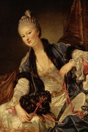"""Фото. Jean Baptiste Greuze """"Portrait of Marquise de Chauvelin"""", XIX в."""