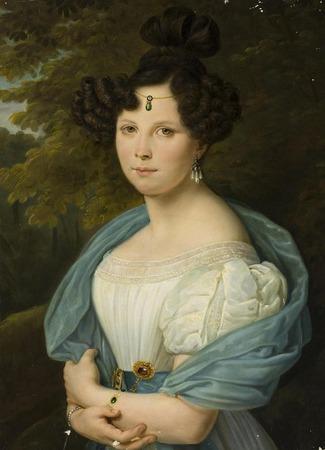 """Фото. Неизвестный художник """"Портрет молодой женщины"""", 1830-е гг."""