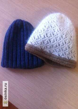 Фото. А это - просто шапочки. Автор работы - esperer23