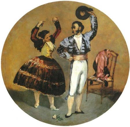 "Фото. Édouard Manet ""Danseurs espagnols"", 1879 г."