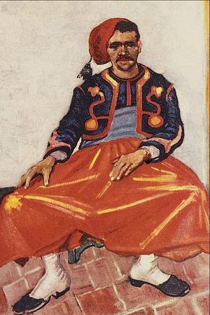 """Фото. Винсент Ван Гог """"Зуав"""", 1888 г."""