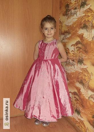 Фото. Платье с завышенной талией, юбка солнце.  Автор работы - St.Elena