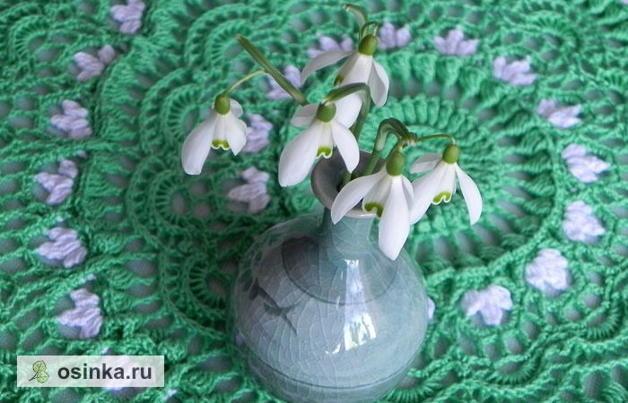 "Фото. Салфеточка ""Весна"".  Автор работы - Olga_Mt"