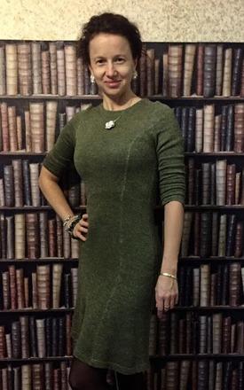 Фото. Платье. Пряжа  PERUVIAN. Автор работы - tgolubeva