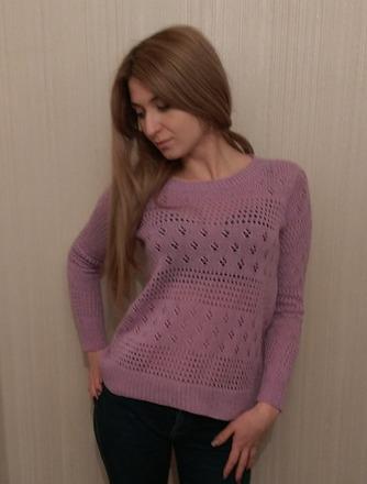 Фото. Пуловер Birkin by Amy Miller .Автор работы - alenairina