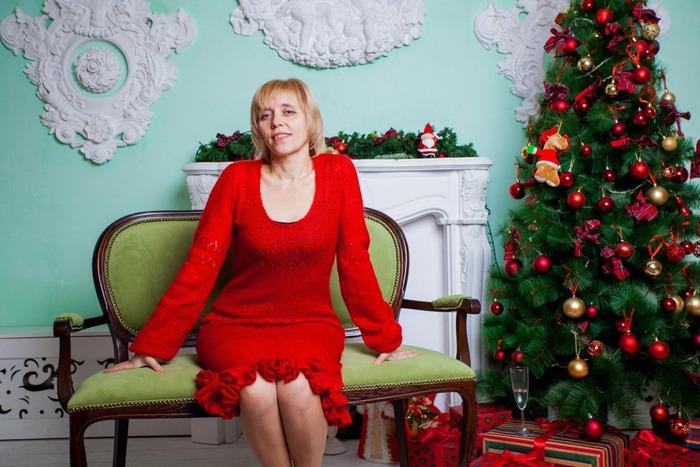 Фото. В последний день зимы платье из мохера. Зима прощай!  Автор работы - НатЮр