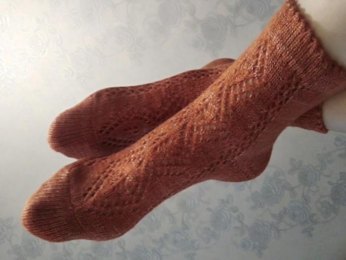 Фото. Домашние носки.   Автор работы - TatianaK4