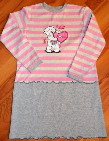 Фото. Весенние наряды для дочери.Платьице из кулирки. Автор работы - Oxana1980
