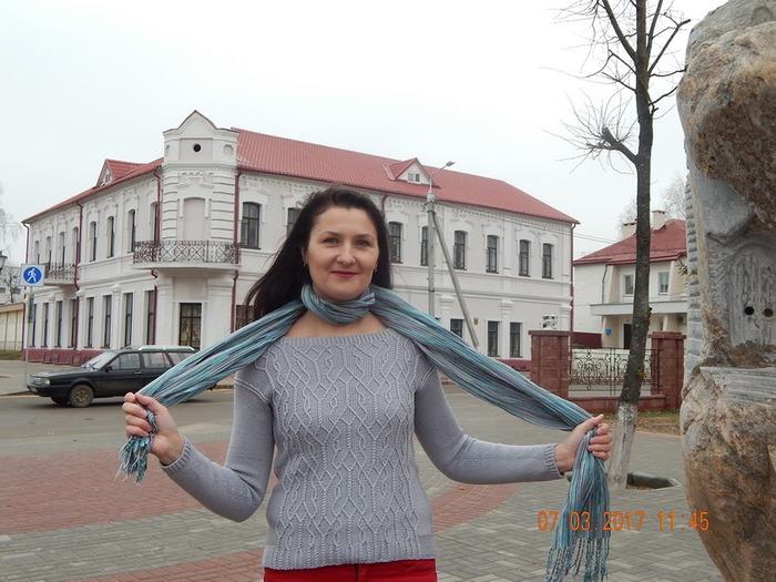 Фото. Aviara Pullover by Irina Anikeeva. FILMAR S.p.a. Paradise, 100% меринос. Автор работы - тосенька 2