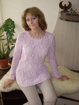 """Фото. Кофточка """"Нежность"""". Пряжа Vita Soft Cotton, 50 г/ 175 м, 100% хлопок, cпицы № 3."""