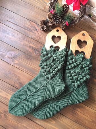 Фото. Эльфийские носки.   Автор работы - aloxa