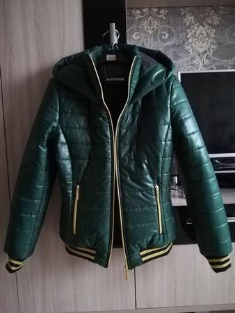 Фото. Куртка из стежки.   Автор работы - ssvveettaa