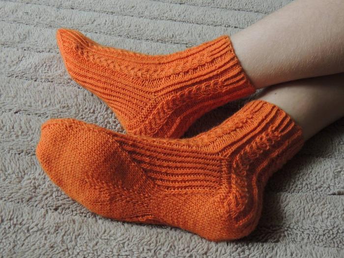 """Фото. Носочки """"Spiga"""" от Юлии Кононовой @hot_socks.ru. Автор работы - Argentavis"""