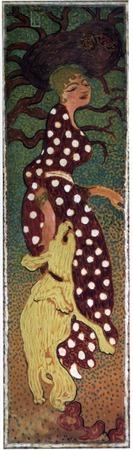 "Фото. Пьер Боннар ""Woman in a polka-dot dress"", 1898 г."