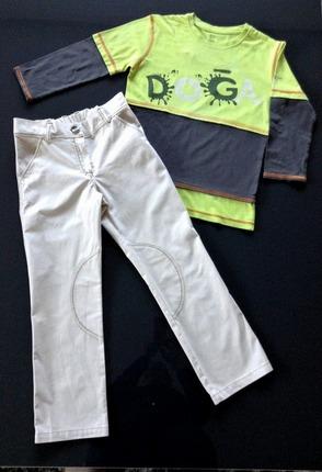 Фото. Твил часто используют для пошива летних брюк. Автор работы - masmar