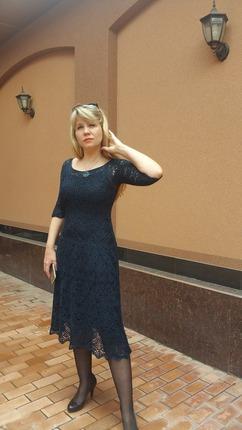 Фото. По мотивам платья от Сесилии Прадо.  Автор работы - shelllla