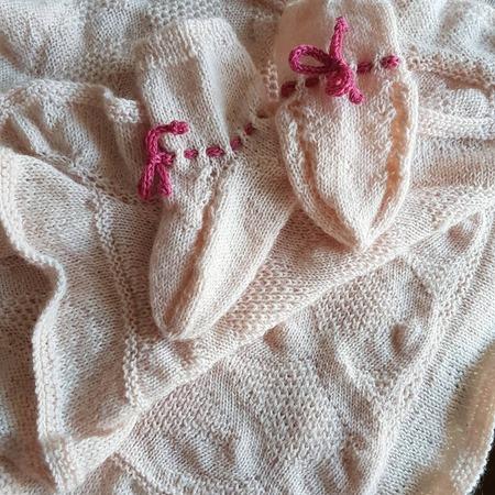 Фото. Пледик и носочки.  Автор работы - Rady