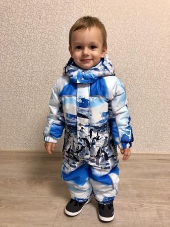 Фото. Зимний комбинезон для сыночка.  Автор работы - ElenaFadeeva