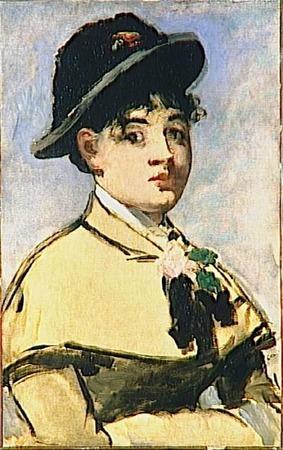 """Фото. Эдуард Мане """"Молодая женщина в пелерине"""", 1881 г."""