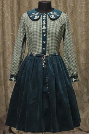 Фото. Платье из х/б вельвета.  Автор работы - Светланка***