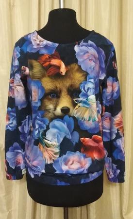Фото. Блузка из кулирки.   Автор работы - Alexis13