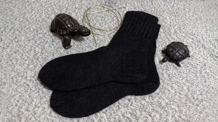 Фото. Очередные носки текущего сезона.   Автор работы - Ruta129