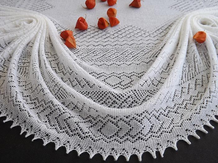 Фото. Оренбургский платок.   Автор работы - Seltsam