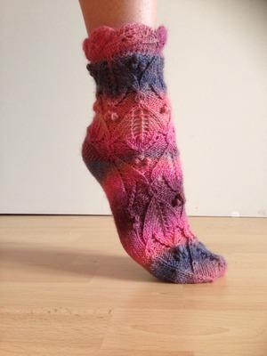 Фото. Первые носки.   Автор работы - LadyElvina