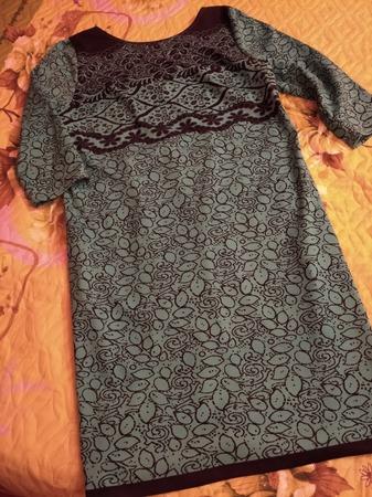 Фото. Платье из трикотажа. Автор работы - GarNat