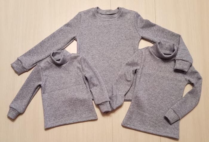 Фото. Тепленькие свитерочки внукам. Автор работы - Марина З.